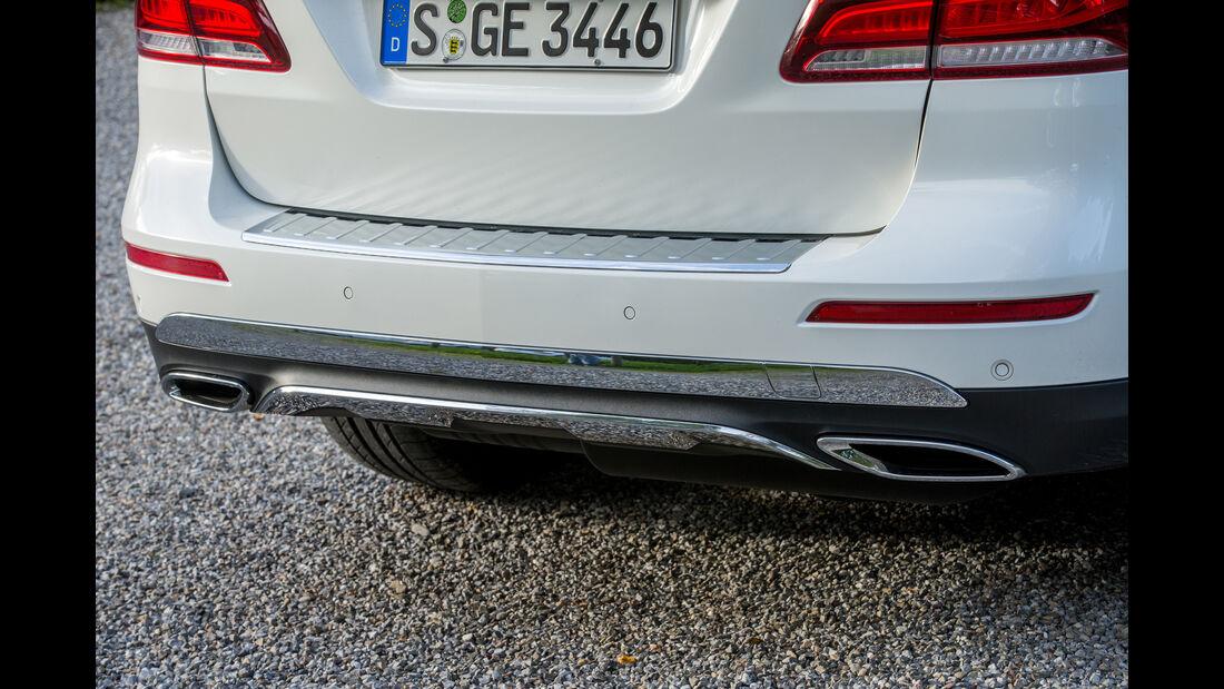 Mercedes GLE 350 d, Auspuff, Endrohr