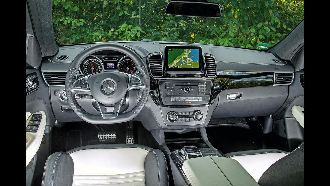 Mercedes GLE 350 d, Cockpit