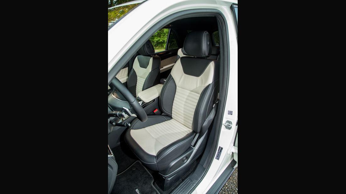 Mercedes GLE 350 d, Fahrersitz