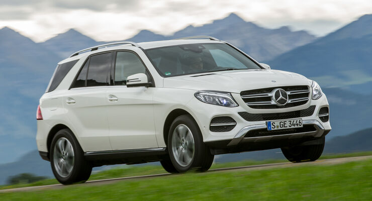 Mercedes GLE 350 d, Frontansicht