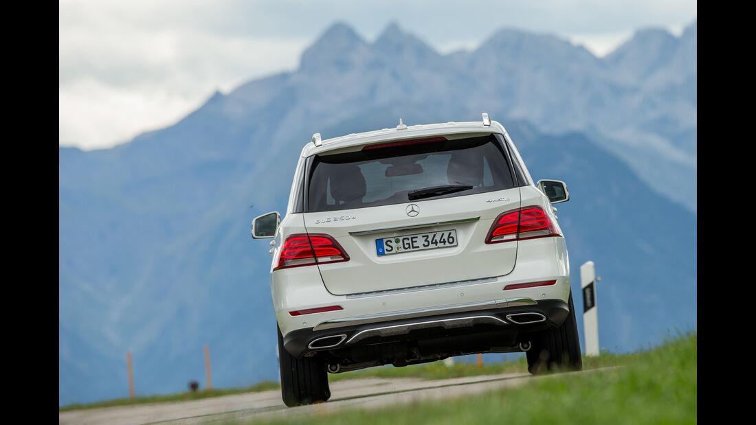 Mercedes GLE 350 d, Heckansicht