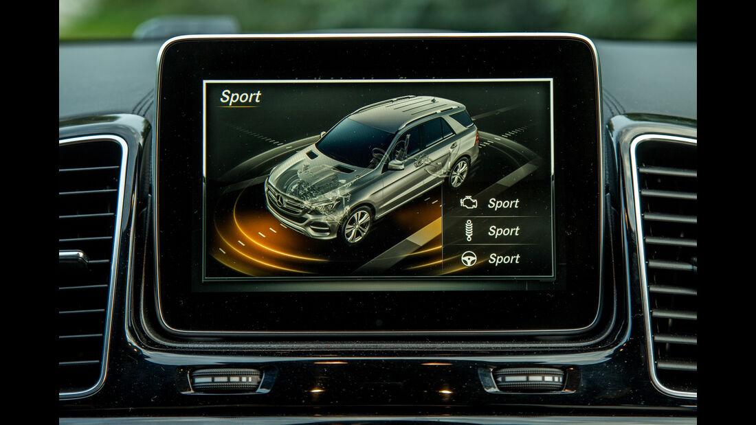 Mercedes GLE 350 d, Infotainment, Monitor