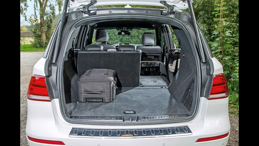 Mercedes GLE 350 d, Kofferraum