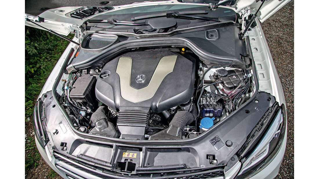 Mercedes GLE 350 d, Motor