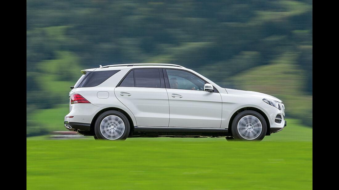 Mercedes GLE 350 d, Seitenansicht