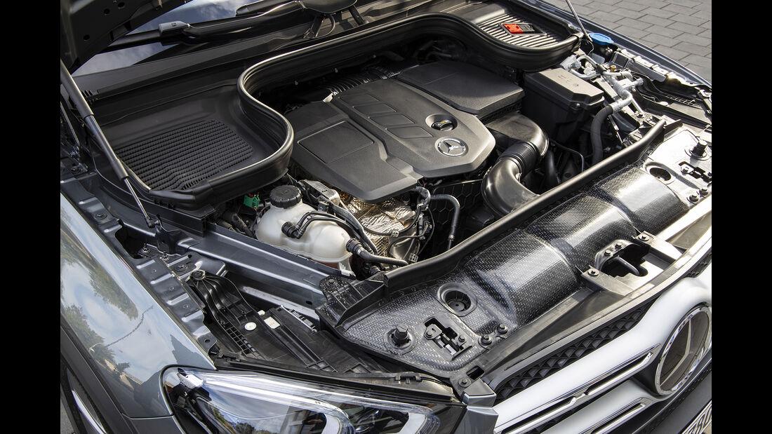 Mercedes GLE 350 de, Motorraum