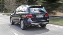 Mercedes GLE 400, Exterieur