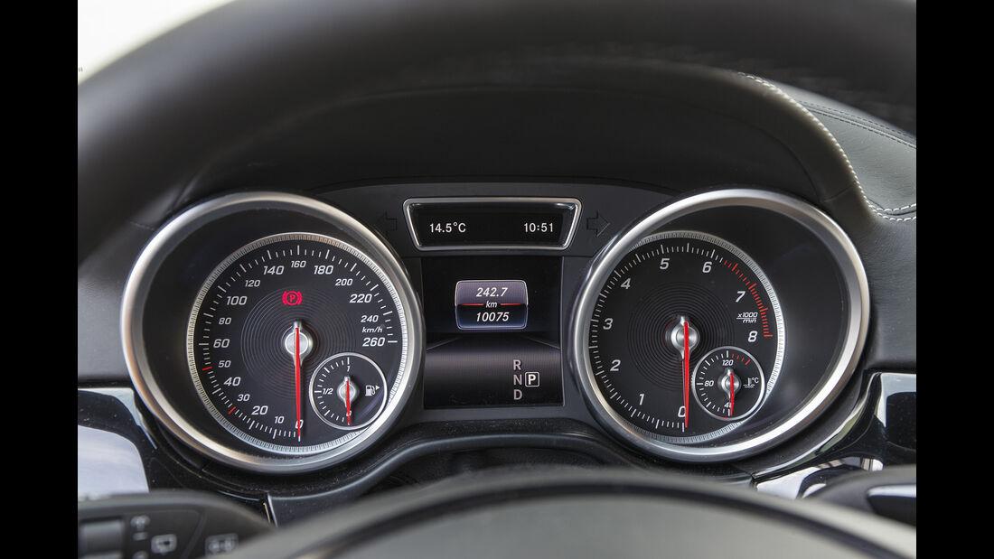 Mercedes GLE 400, Interieur
