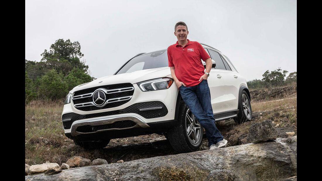 Mercedes GLE 400 d, Exterieur, Front