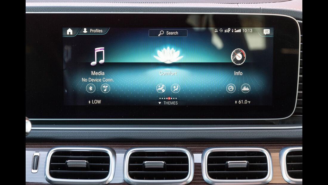 Mercedes GLE 400 d, Infotainment