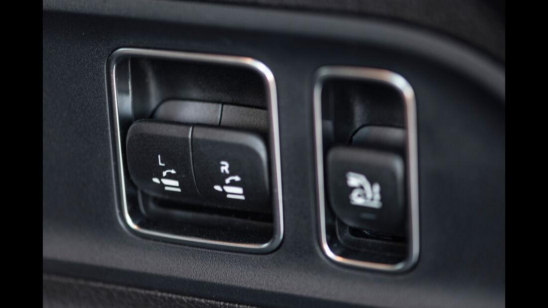 Mercedes GLE 400 d, Rückbank, Entriegelung