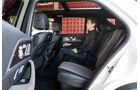 Mercedes GLE 400 d, Rückbank
