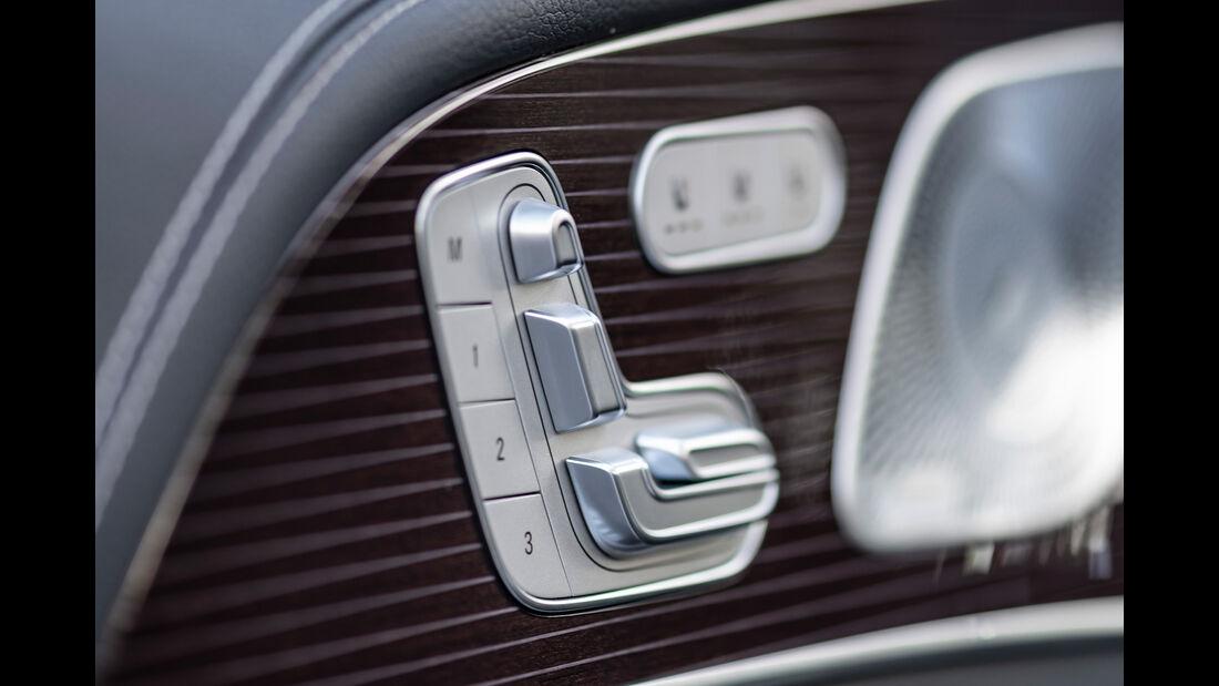 Mercedes GLE 400 d, Sitzsteuerung