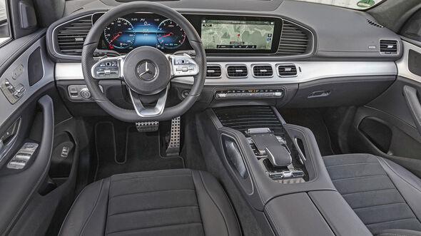 Mercedes GLE 450 4Matic, Interieur