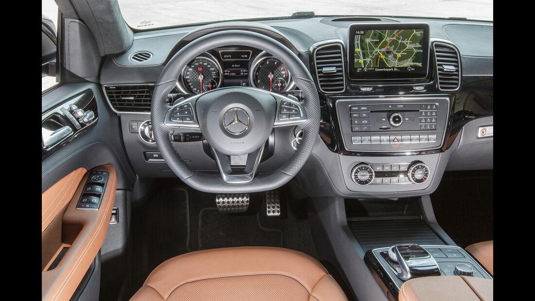Mercedes GLE 450 AMG Coupé 4Matic, Cockpit