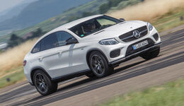 Mercedes GLE 450 AMG Coupé 4Matic, Frontansicht