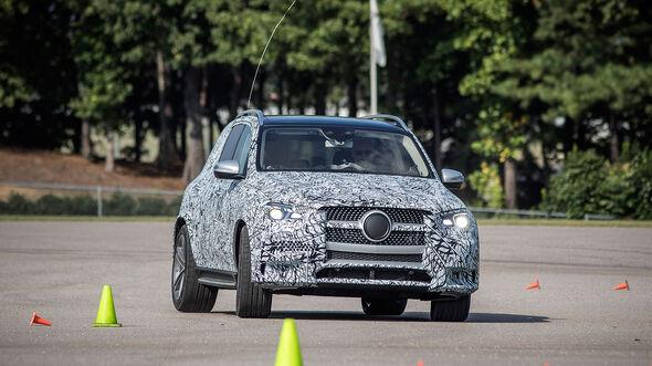 Mercedes GLE 450 Prototyp