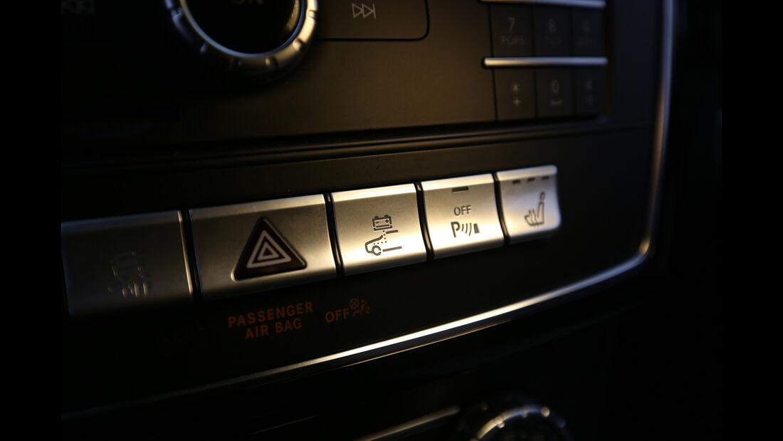Mercedes GLE 500 e 4Matic, Bedienelemente