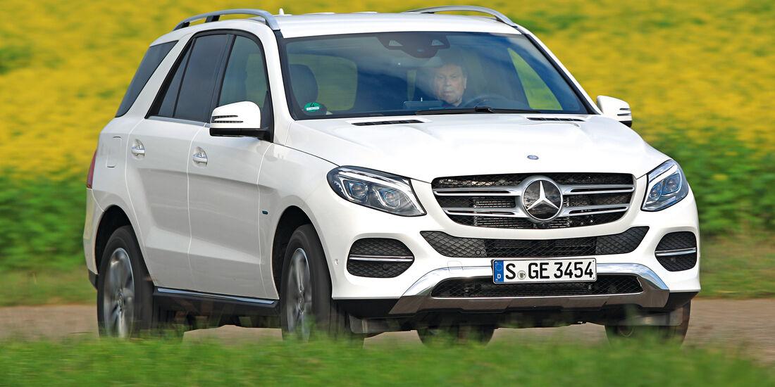 Mercedes GLE 500 e 4Matic, Frontansicht
