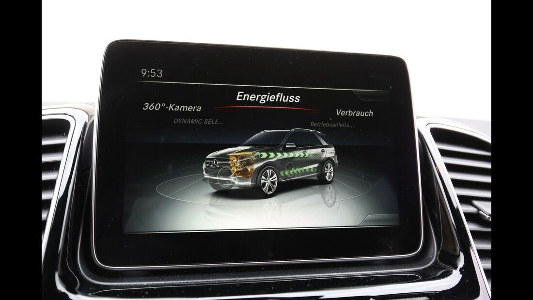 Mercedes GLE 500 e 4Matic, Infotainment, Monitor
