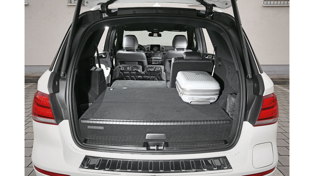Mercedes GLE 500 e 4Matic, Kofferraum