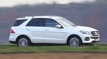 Mercedes GLE 500 e 4Matic, Seitenansicht