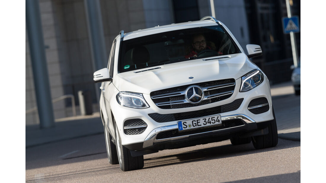 Mercedes GLE 500e, Frontansicht