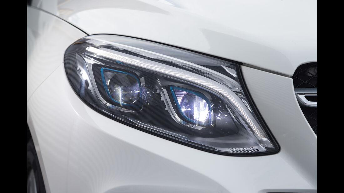 Mercedes GLE 500e, Frontscheinwerfer