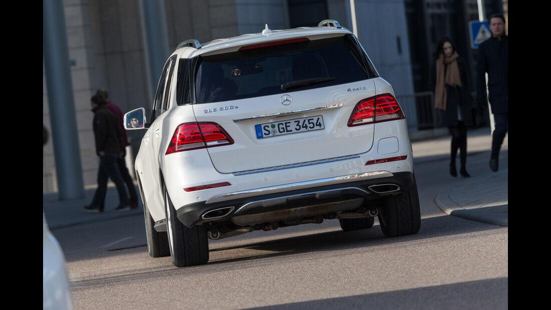 Mercedes GLE 500e, Heckansicht