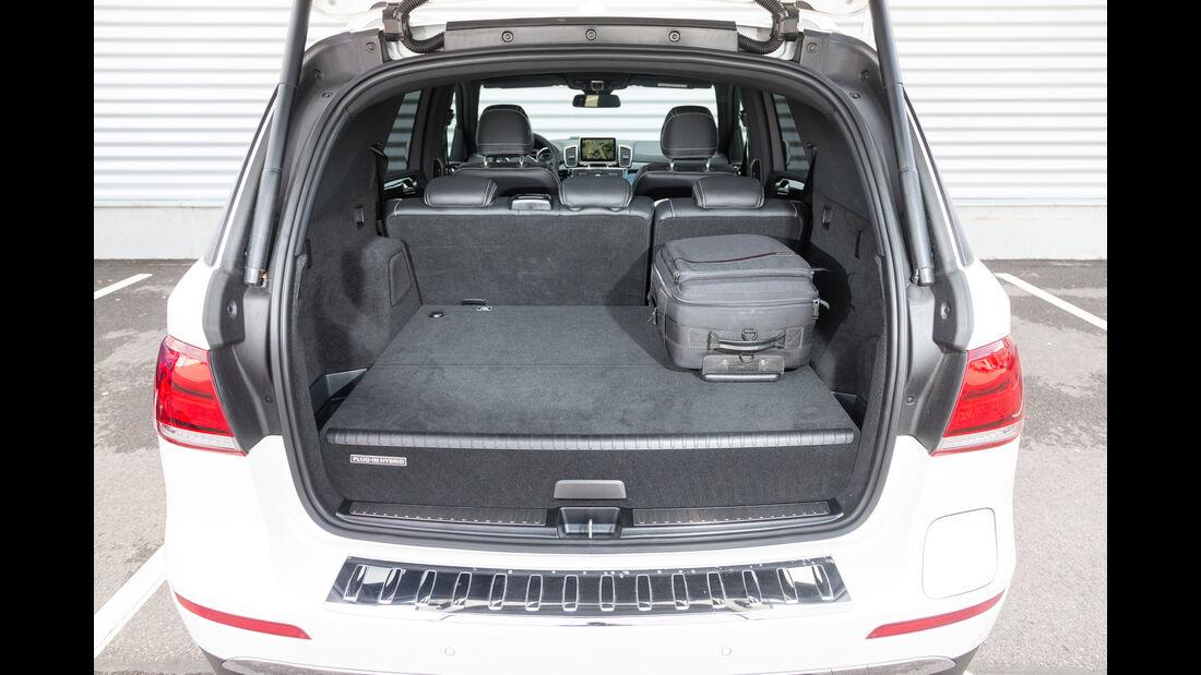Mercedes GLE 500e, Kofferraum