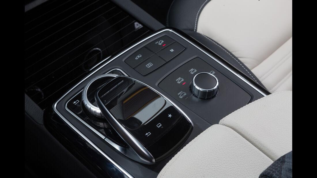 Mercedes GLE 500e, Schaltung