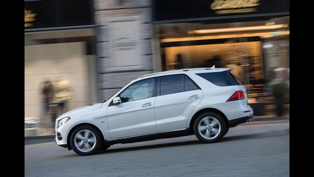 Mercedes GLE 500e, Seitenansicht