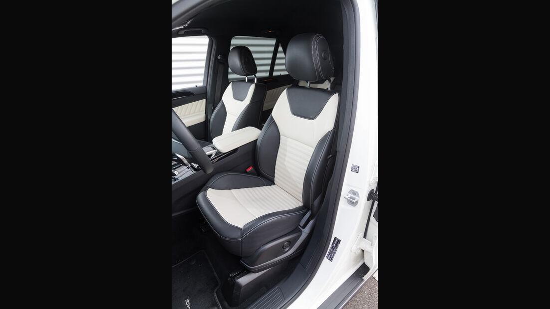 Mercedes GLE 500e, Sitze