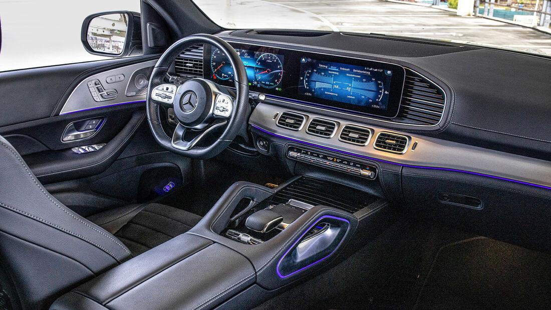 Mercedes GLE 580, Interieur