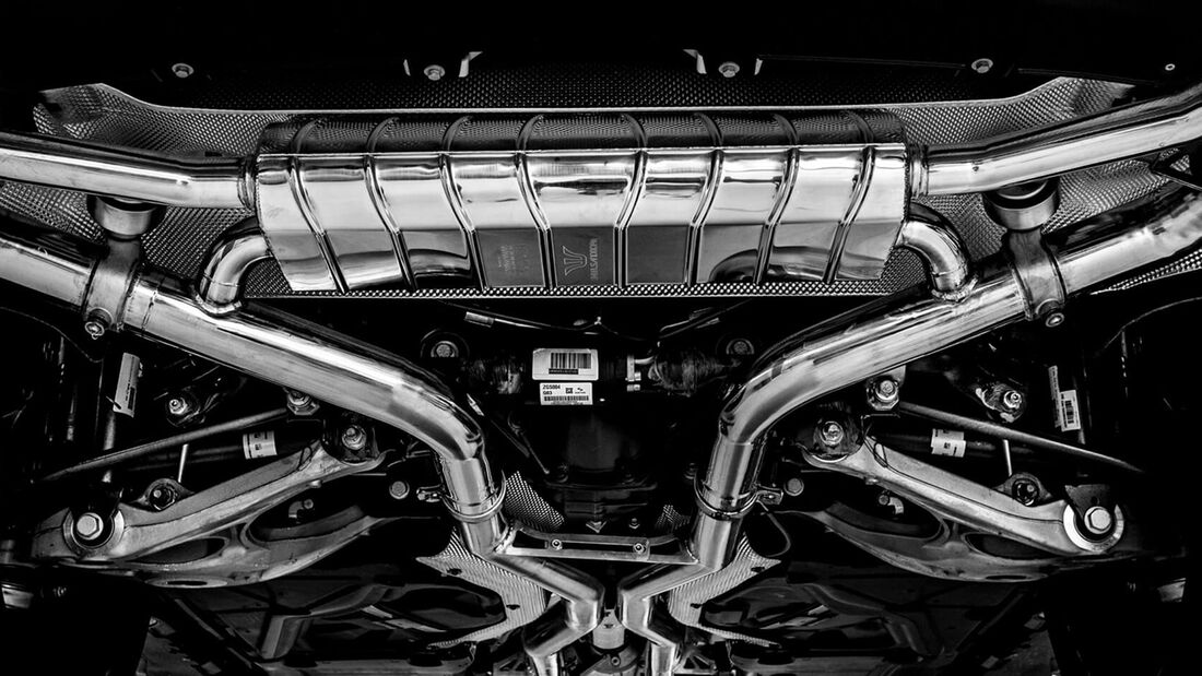 Mercedes GLE 63 AMG und 55 Wheelsandmore
