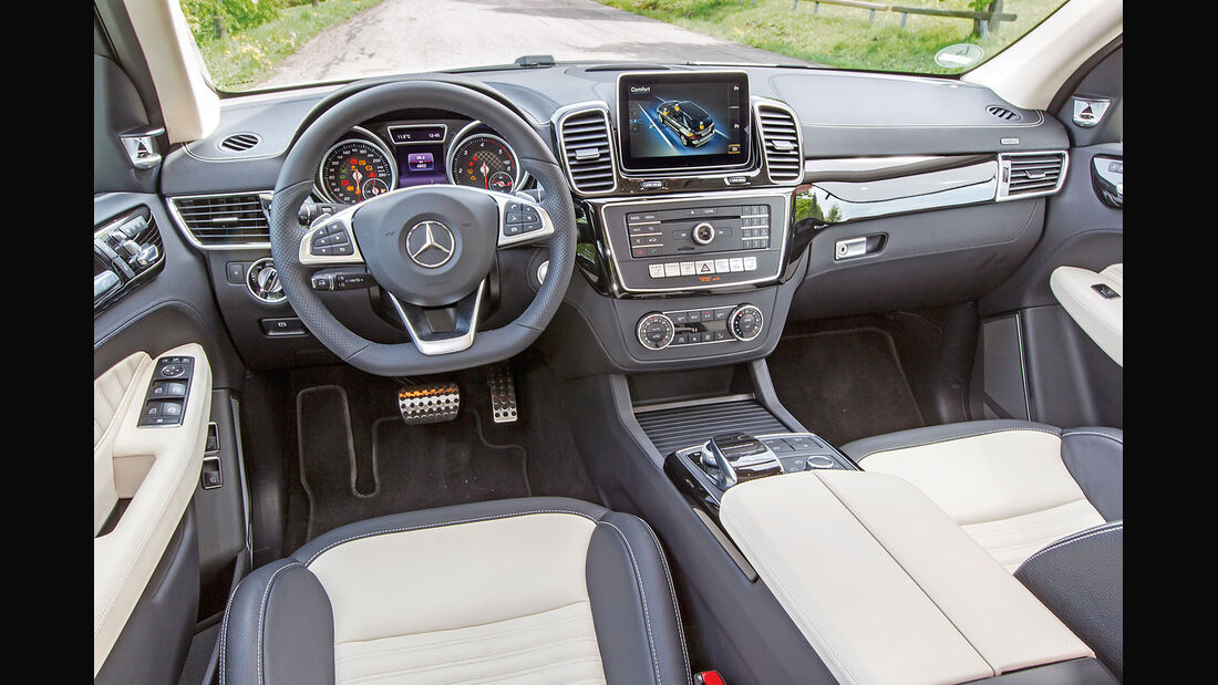 Mercedes GLE, Cockpit