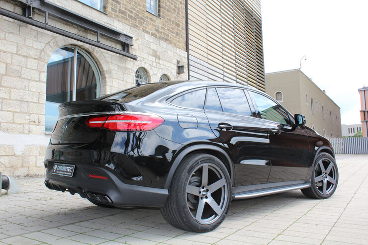 Mercedes GLE Coupé by Chrometec