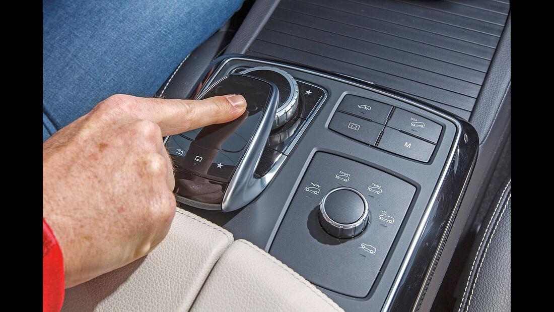 Mercedes GLE, Dreh-Drück-Regler