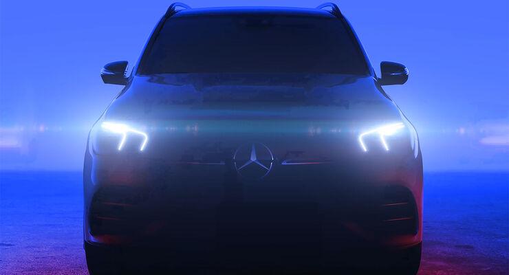 Mercedes GLE Teaser