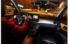 Mercedes GLK 200 CDI, Cockpit, Fahrer