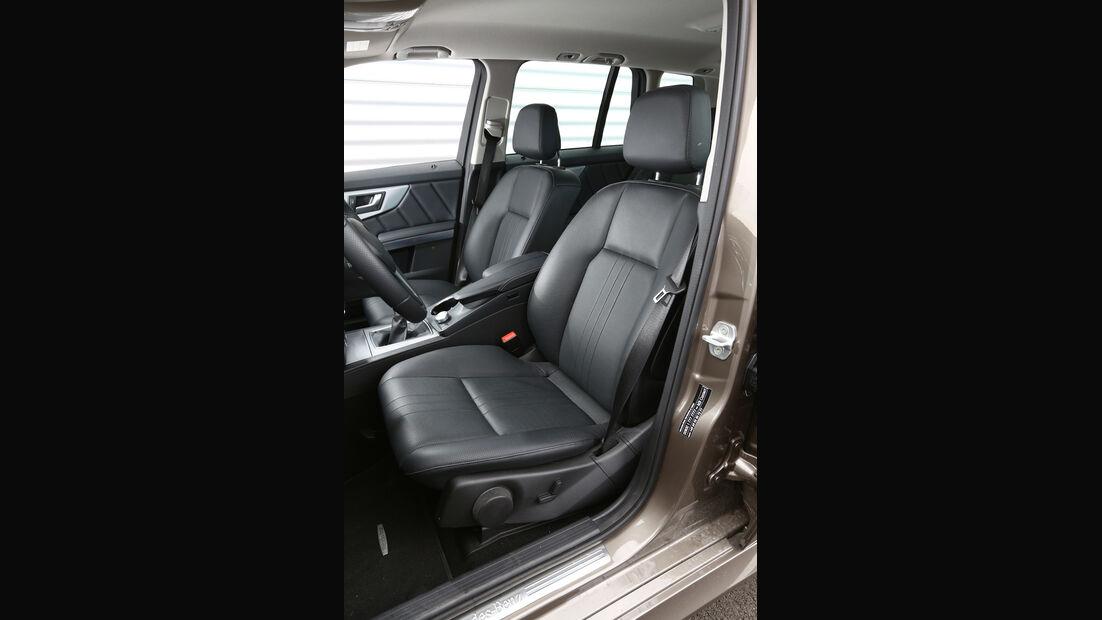 Mercedes GLK 200 CDI, Fahrersitz