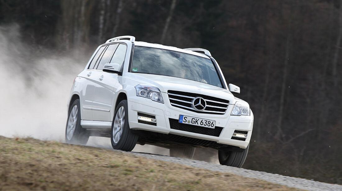 Mercedes GLK 200 CDI, Front