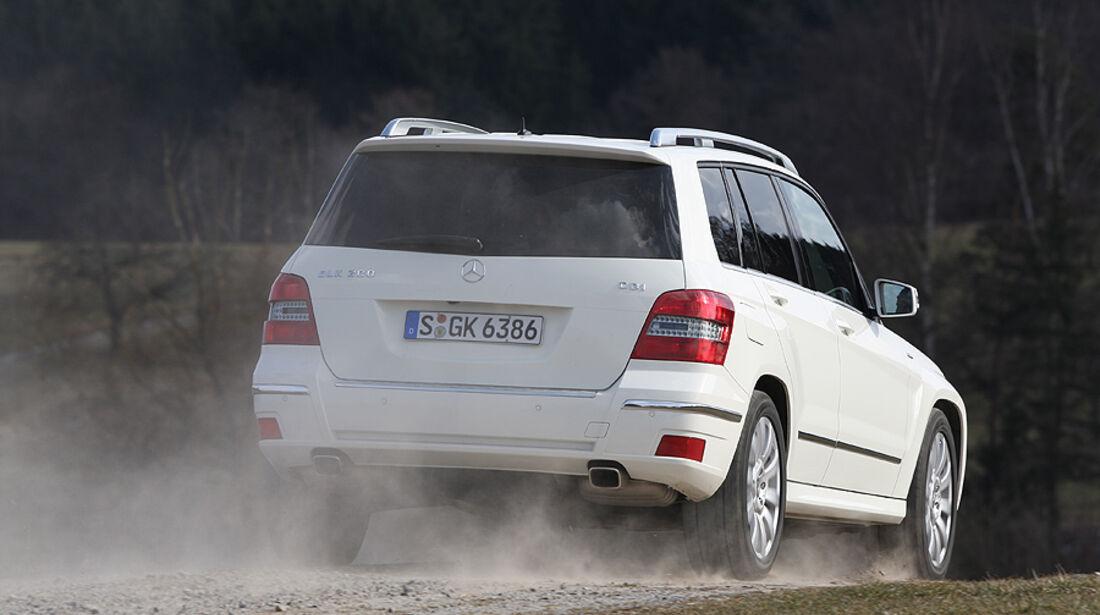 Mercedes GLK 200 CDI, Heck