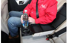 Mercedes GLK 200 CDI, Rücksitze, ausklappbare Armlehre