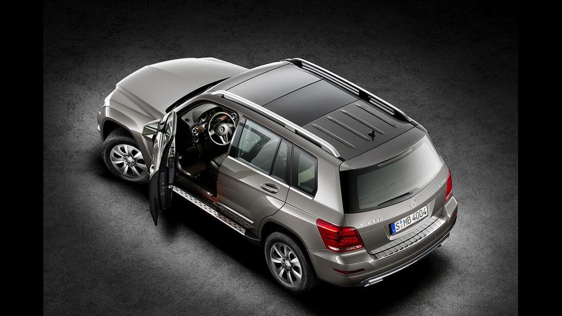 Mercedes GLK 2012, Dach, Türen