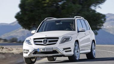 Mercedes GLK 2012, Front