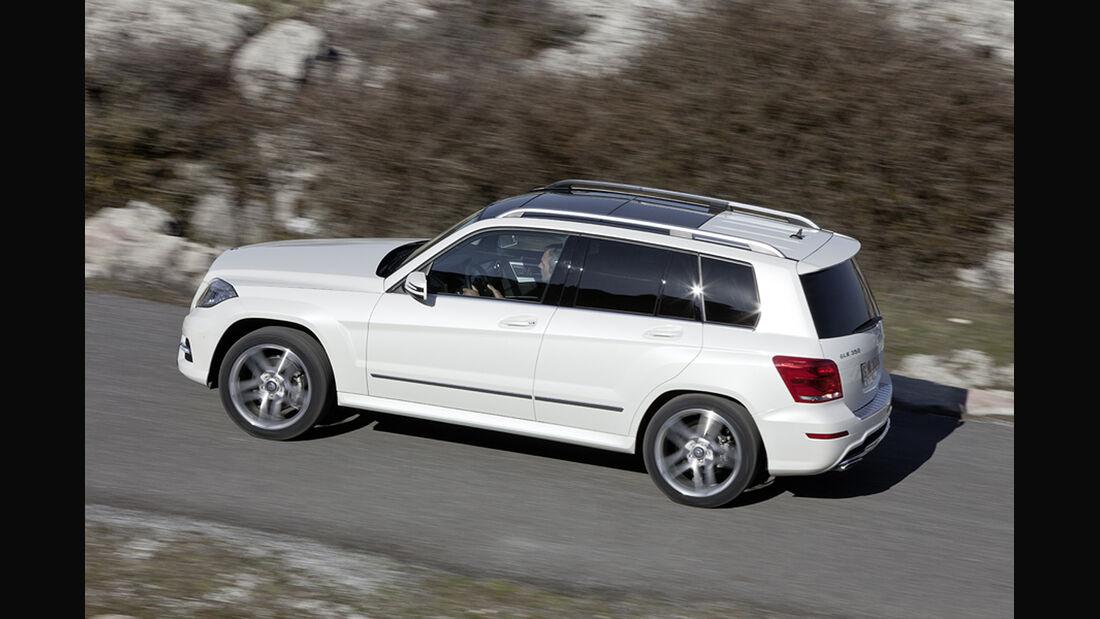 Mercedes GLK 2012, Seitenansicht