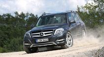 Mercedes GLK 220 CDI Bluetec, Frontansicht