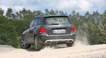 Mercedes GLK 220 CDI Bluetec, Heckansicht