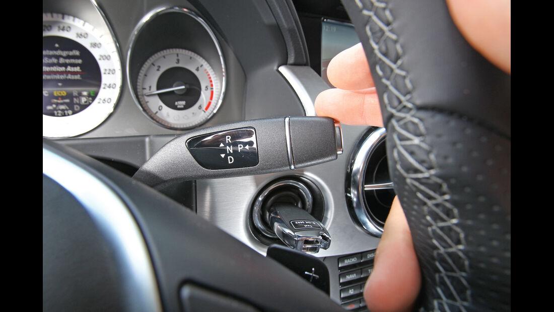 Mercedes GLK 220 CDI Bluetec, Lenkerhebel